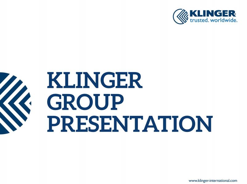 klinger presentation